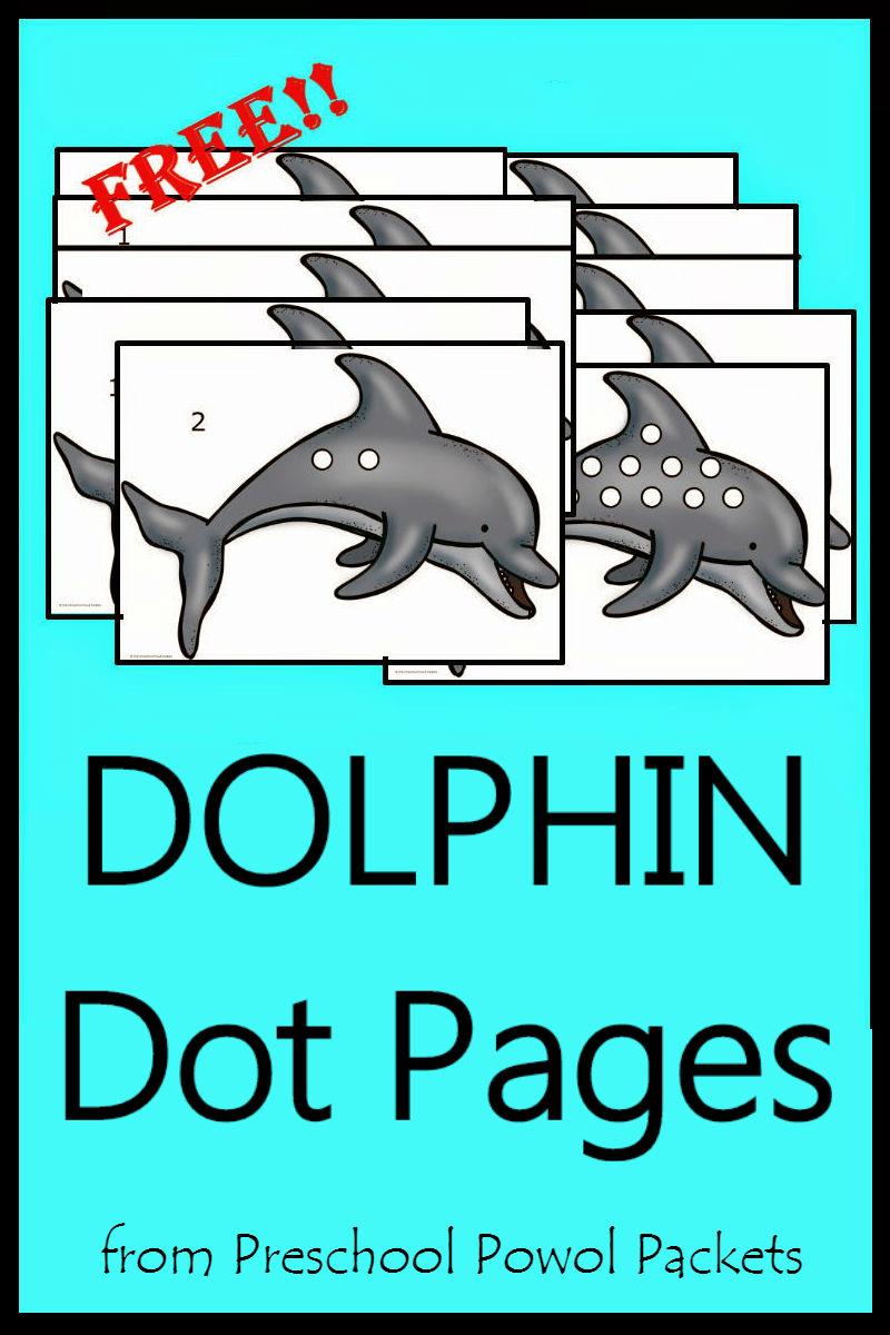 FREE} Preschool Ocean Themed Printable Activities | Preschool Powol ...