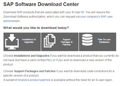 SAP-Software-Download-Center