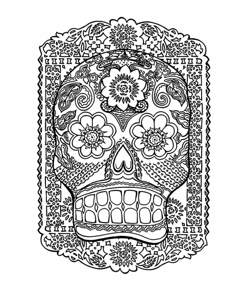 20 Free Coloring Pages For Adults PDF - Adult Coloring ...