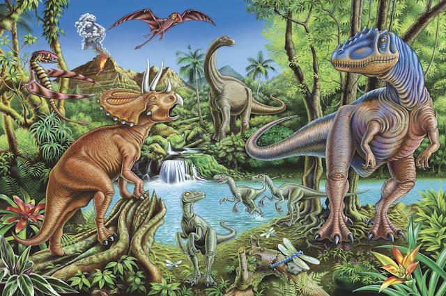 Fantasia tapetti Dinosaurus tapetti Lapset Valokuvatapetti Lapsia Huone