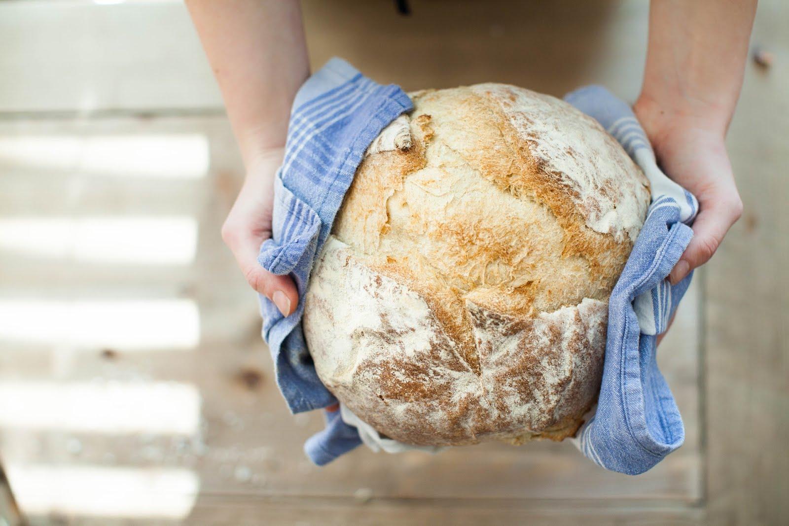 best easy bread recipe (vegan & organic )