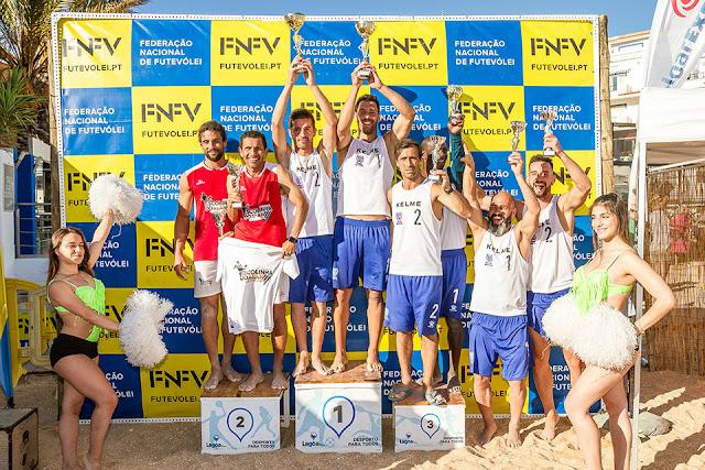 Filipe Santos e Beto Correia venceram etapa inaugural do Campeonato Nacional de Futevólei 2018