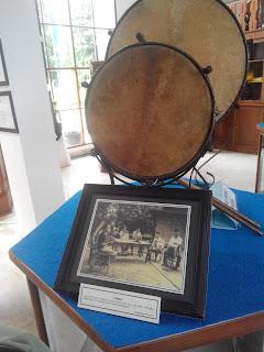 Rebana koleksi Museum Betawi Setu Babakan