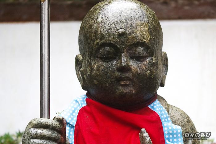 visage d'un jizo du rinko in