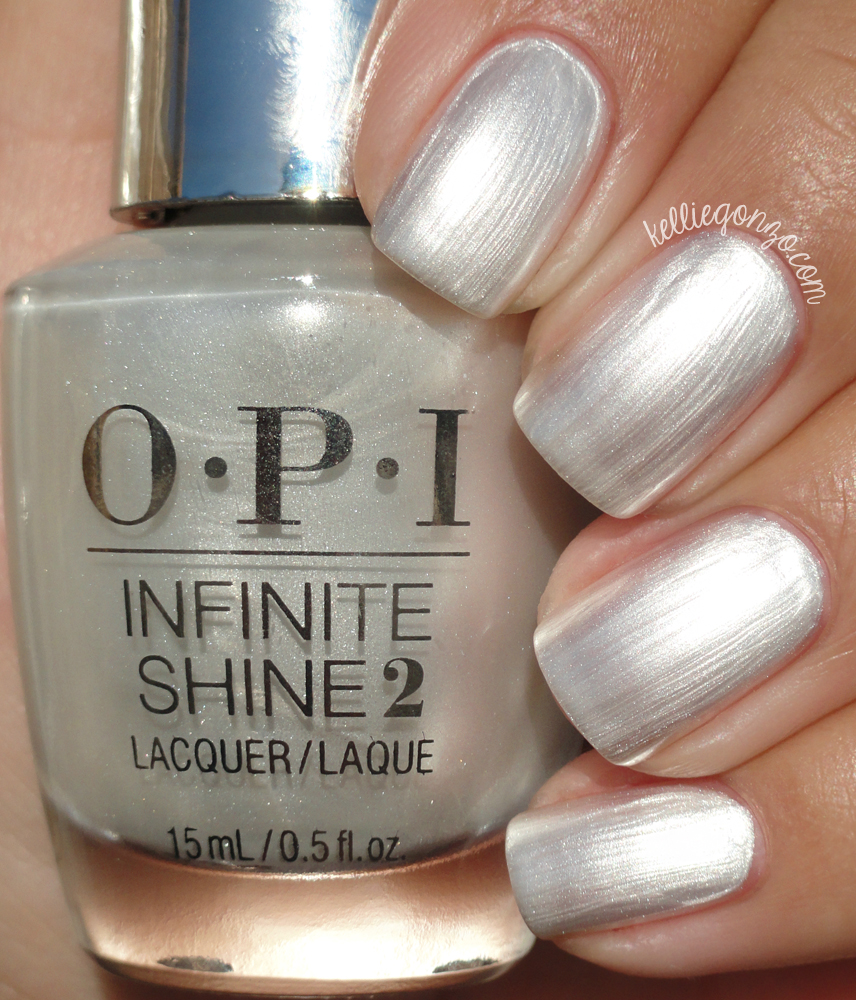 OPI Infinite Shine Girls Love Pearls