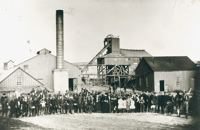 The Lucas Countyan Black Diamonds Lucas County And Coal