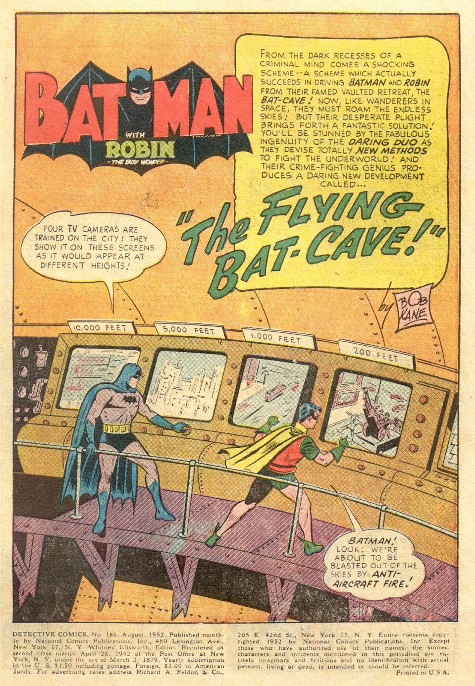 Read online Detective Comics (1937) comic -  Issue #186 - 3