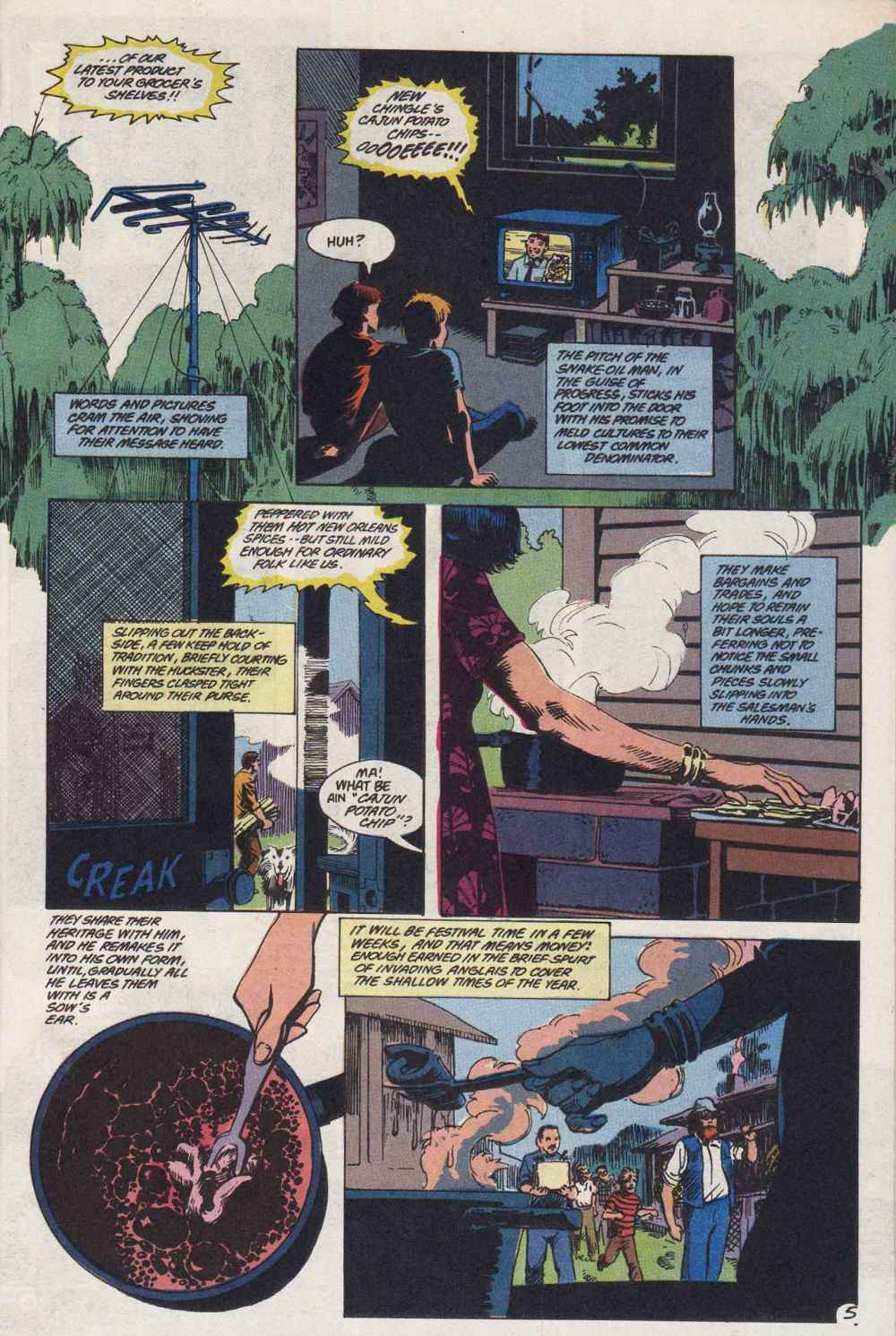 Swamp Thing (1982) Issue #89 #97 - English 6