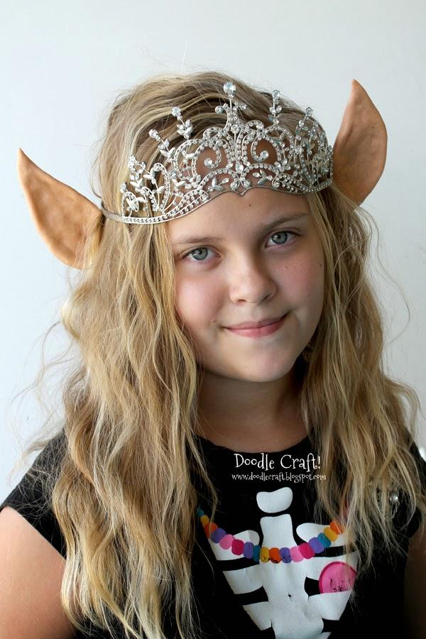 Elven Princess Or Christmas Elf Ears Headband