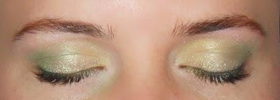 sombras de ojos lima limon