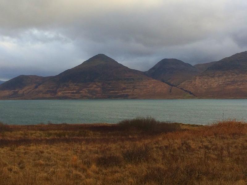 hills on isle of mull
