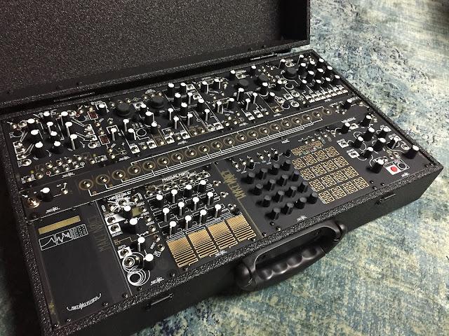 matrixsynth make noise black gold shared system modular synthesizer. Black Bedroom Furniture Sets. Home Design Ideas