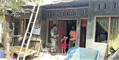 ''Kesuwun Pak Tentara, Rumah Saya Sangat Bagus''