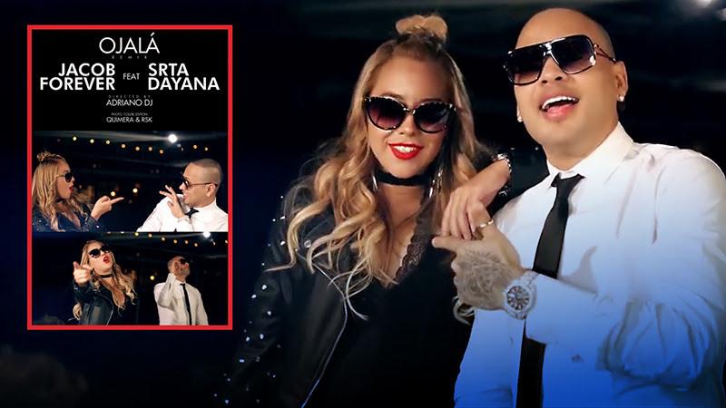 Jacob Forever y Srta Dayana - ¨Ojalᨠ- Videoclip - Dirección: Adriano DJ. Portal Del Vídeo Clip Cubano
