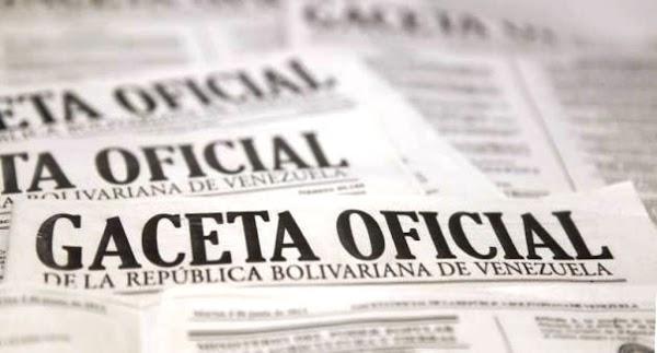 Le presentamos los ultimos decretos presidenciales publicados en Gaceta oficial Nº 41.159
