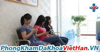 Phòng chờ khám bệnh phụ khoa tại Đa Khoa Việt Hàn