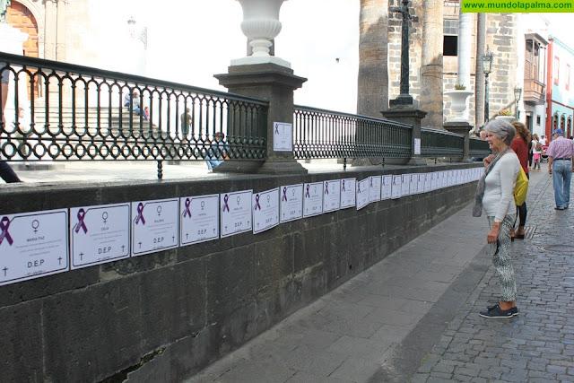 El Ayuntamiento de Santa Cruz de La Palma se une a los actos con motivo del Día de la Eliminación de la Violencia contra las Mujeres
