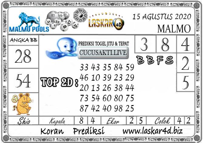 Prediksi Togel MALMO LASKAR4D 15 AGUSTUS 2020