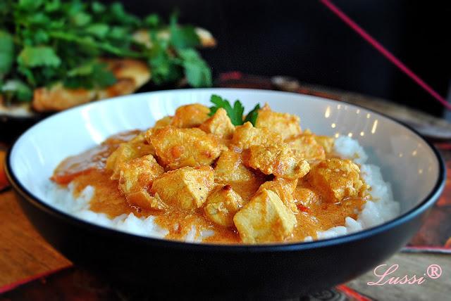 Пиле по индийски / Indian-Style Chicken