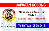 Jawatan Kerja Kosong Majlis Daerah Kuala Pilah (MDKP) logo www.ohjob.info disember 2016
