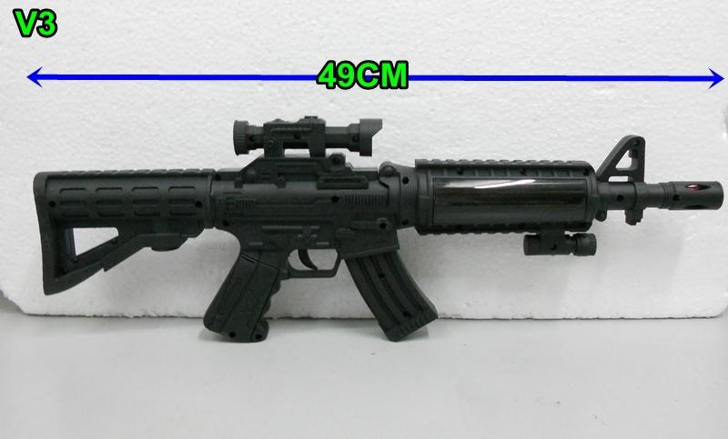 machine gun with sound