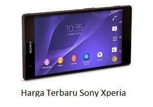 Daftar Harga Terbaru Sony Xperia