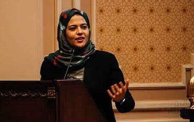 داليا زيادة تتحدث أمام البرلمان مصر