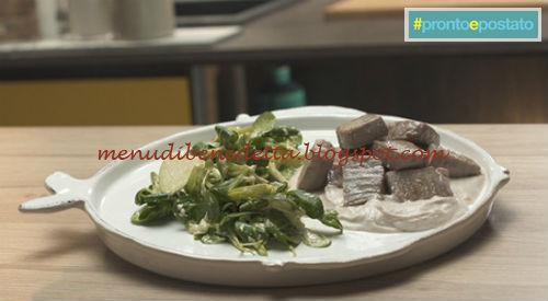 Pronto e postato - Tonno tonnato ricetta Benedetta Parodi