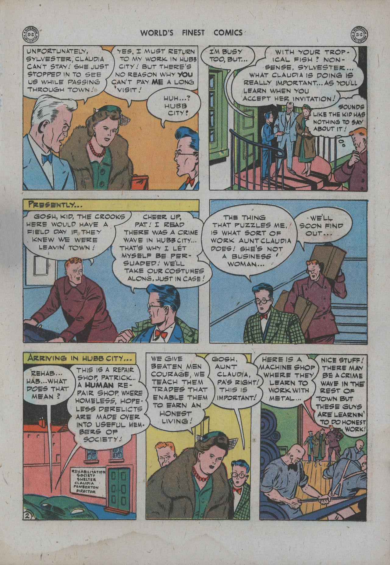 Read online World's Finest Comics comic -  Issue #15 - 18