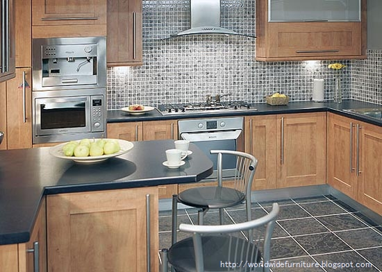 All About Home Decoration & Furniture: Kitchen Wall Tiles ...