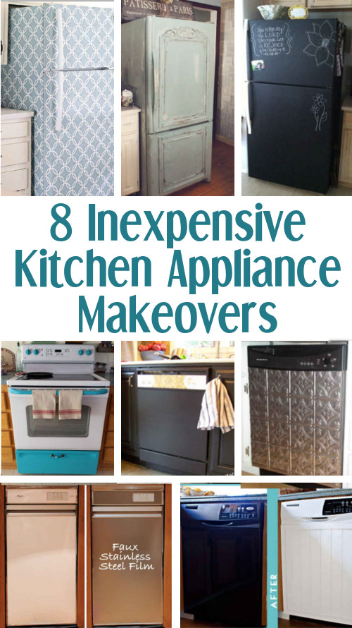 DIY Home Sweet Home: 8 Inexpensive Kitchen Appliance Makeovers