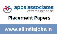 Apps Associates Placement Papers