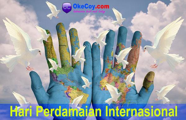 hari perdamaian sedunia internasional sejarah lengkap