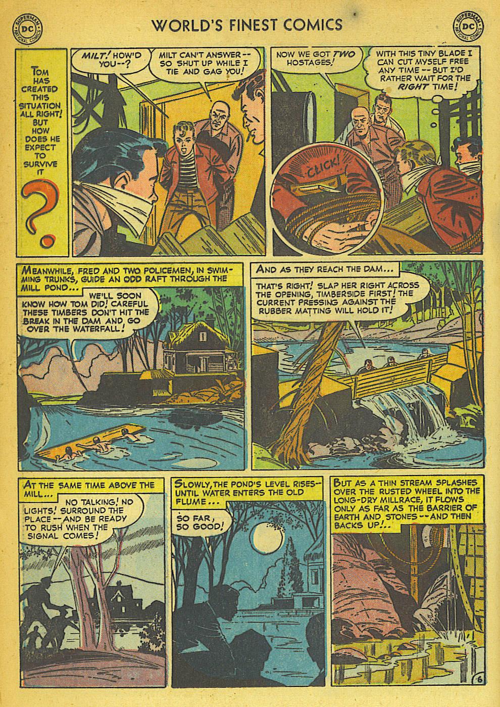 Read online World's Finest Comics comic -  Issue #57 - 46