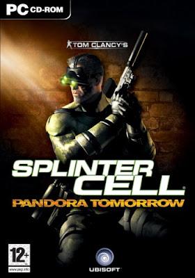 Tom clancy's splinter cell: pandora tomorrow full version game.