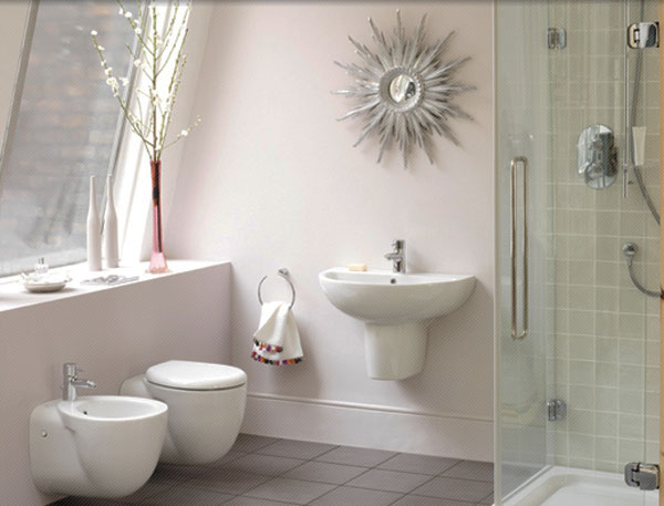 Hogares frescos 30 ideas para cuartos de ba os peque os y for Bathroom design 5m2