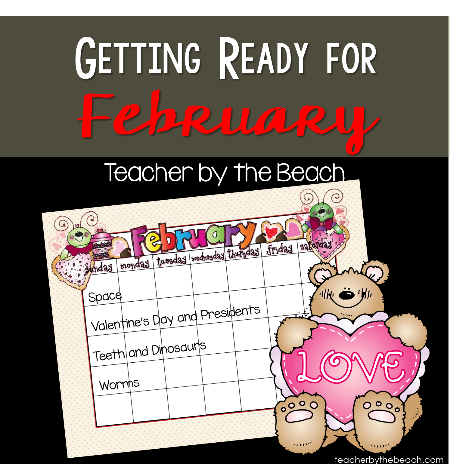 Getting Ready For February In 1st Grade