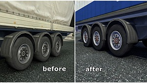 New Steel wheels for trailers