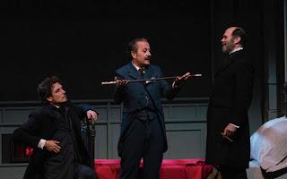 Don Luis, don Manuel y don Juan en La dama duende