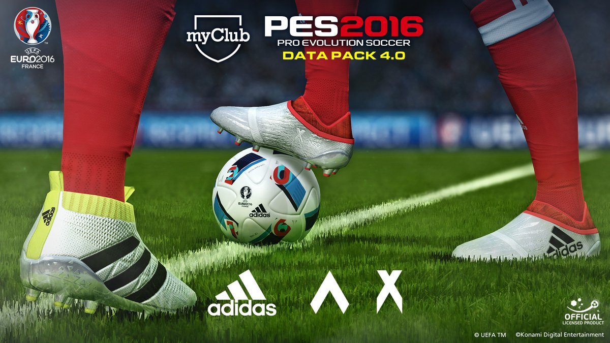 PES 2016: Data Pack 4 released