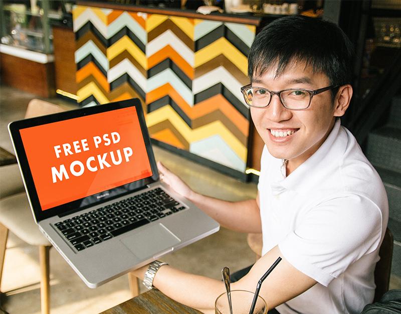 Laptop Macbook Pro PSD Mockups