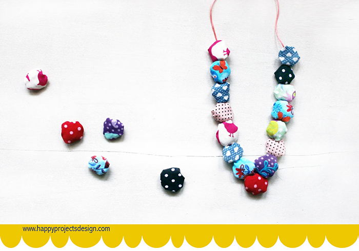 DIY: collar con retales de tela