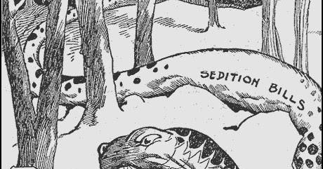 sedition bills