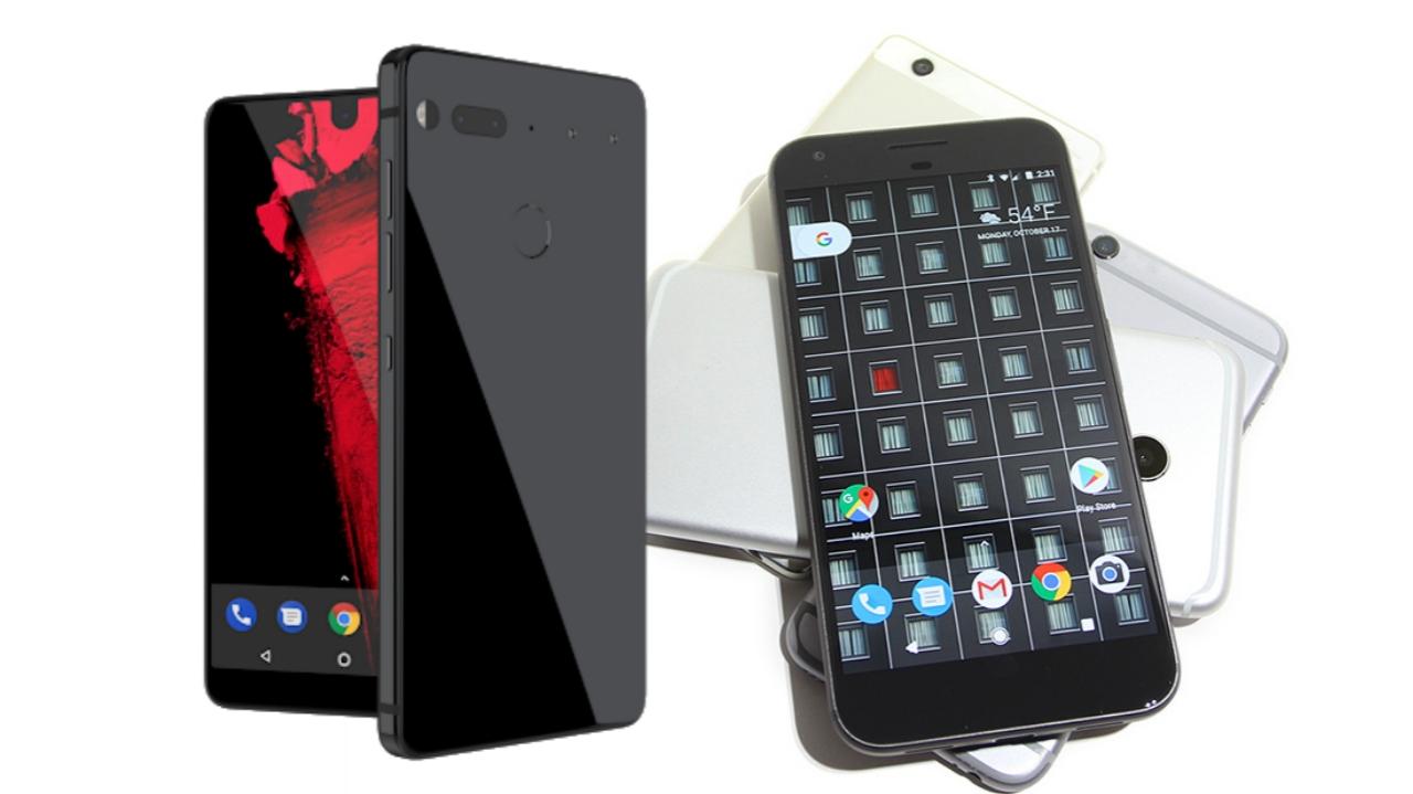update essential phone