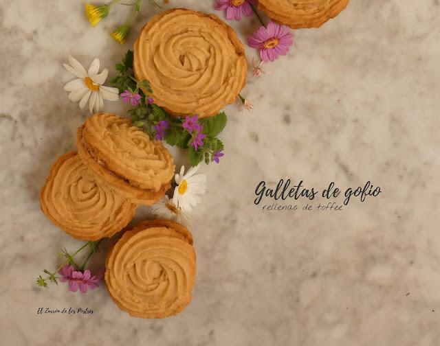 Galletas De Gofio De Maíz Y Toffee (maíz Ecológico)