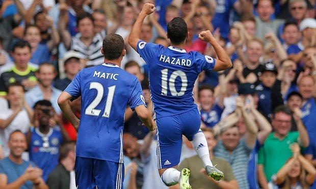 Tanpa Fabregas, Chelsea Menang Telak Atas Burnley