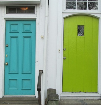 Crystal Cattle Turquoise Thursday Turquoise Front Door