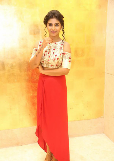 Kruthika Jayakumar in Skirt and Crop Top