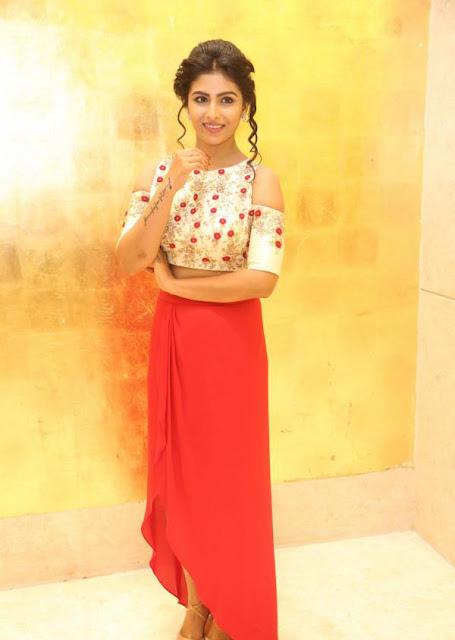 Kruthika Jayakumar in Skirt and Crop Top