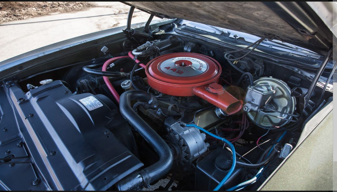 Red coolant hose blue ground wire indicates a driver car instead of show horse easy fixes checking it for matching numbers and failing that
